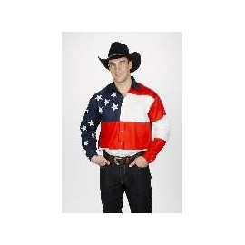 Stars & Stripes  Mens Western Shirt